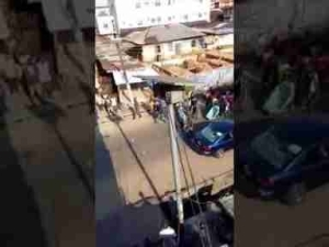 Soldiers Escort Hausa Indigenes To Mosque Following Riot In Aba ( Video)